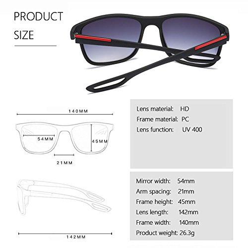 Unisex Bmeigo Carré pour Homme pour 02 Classique soleil avec UV400 Mode Eyewear Protection Brown Femme Lunettes Lunettes de nq7fxzU