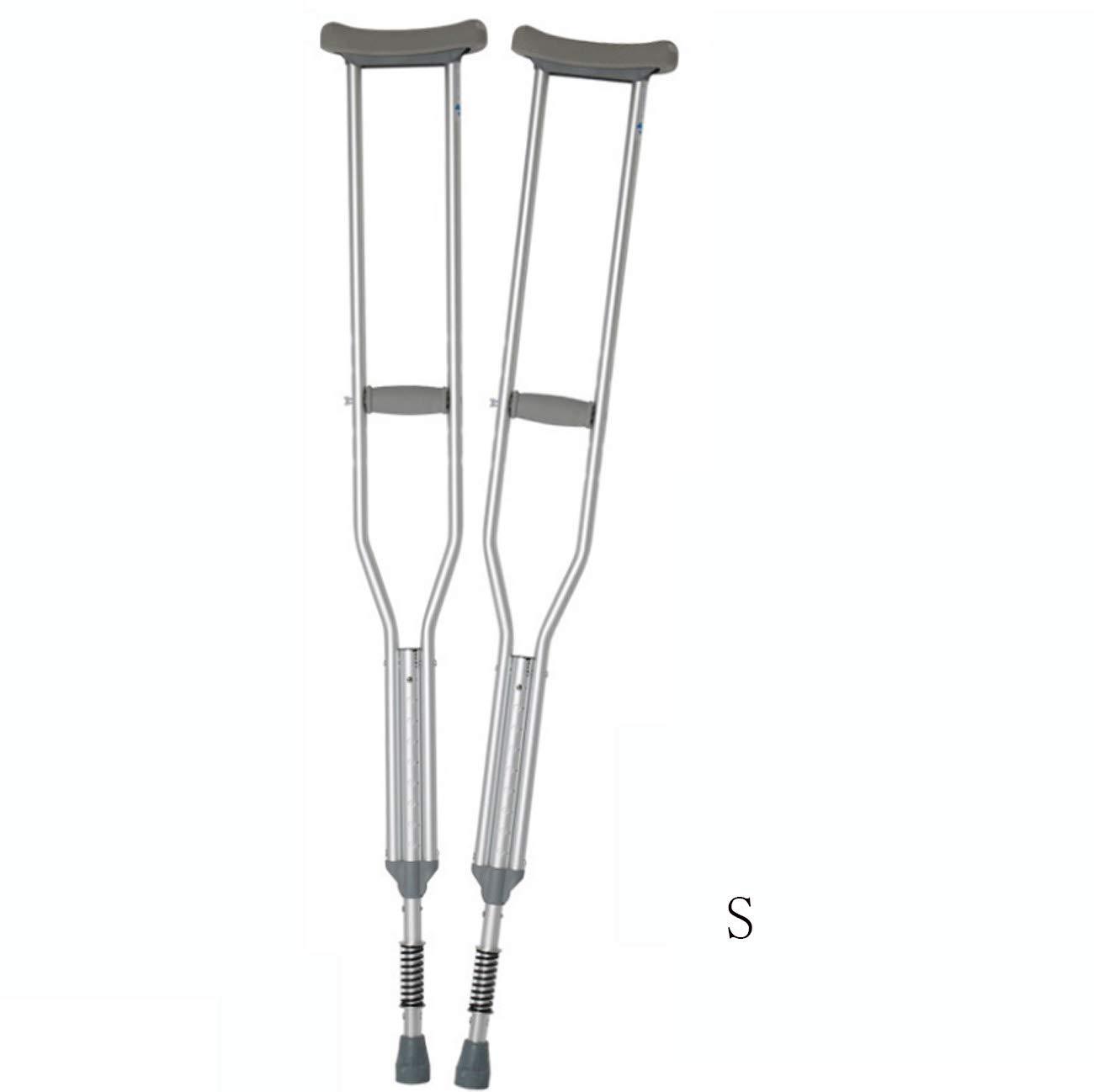 【お買得】 スプリングダンピング装置を備えた1対の脇の下の松葉杖、障害者のためのリハビリウォーカー Large B07G86JV14 B07G86JV14 Large, 看板ショッピングセンター:626c0ff2 --- a0267596.xsph.ru