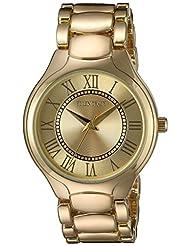 Ellen Tracy Women's ET5194GD Gold Dial Classic Ladies Watch