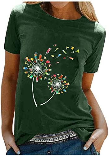 Comie korte mouwen sweatshirt vrouwen top korte blouse tuniek Tshirt mode lange mouwen bovenstukken slim fit sliphemd zomer bloemenprint tee casual ronde hals hemd
