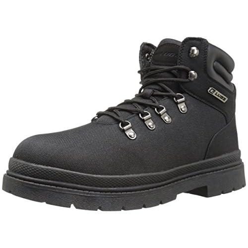 Lugz Men's Grotto Ballistic Winter Boot, Black, 9.5 M US