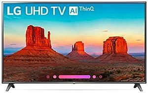 LG Electronics 86UK6570PUB 86-Inch 4K Ultra HD Smart LED TV (2018 Model)