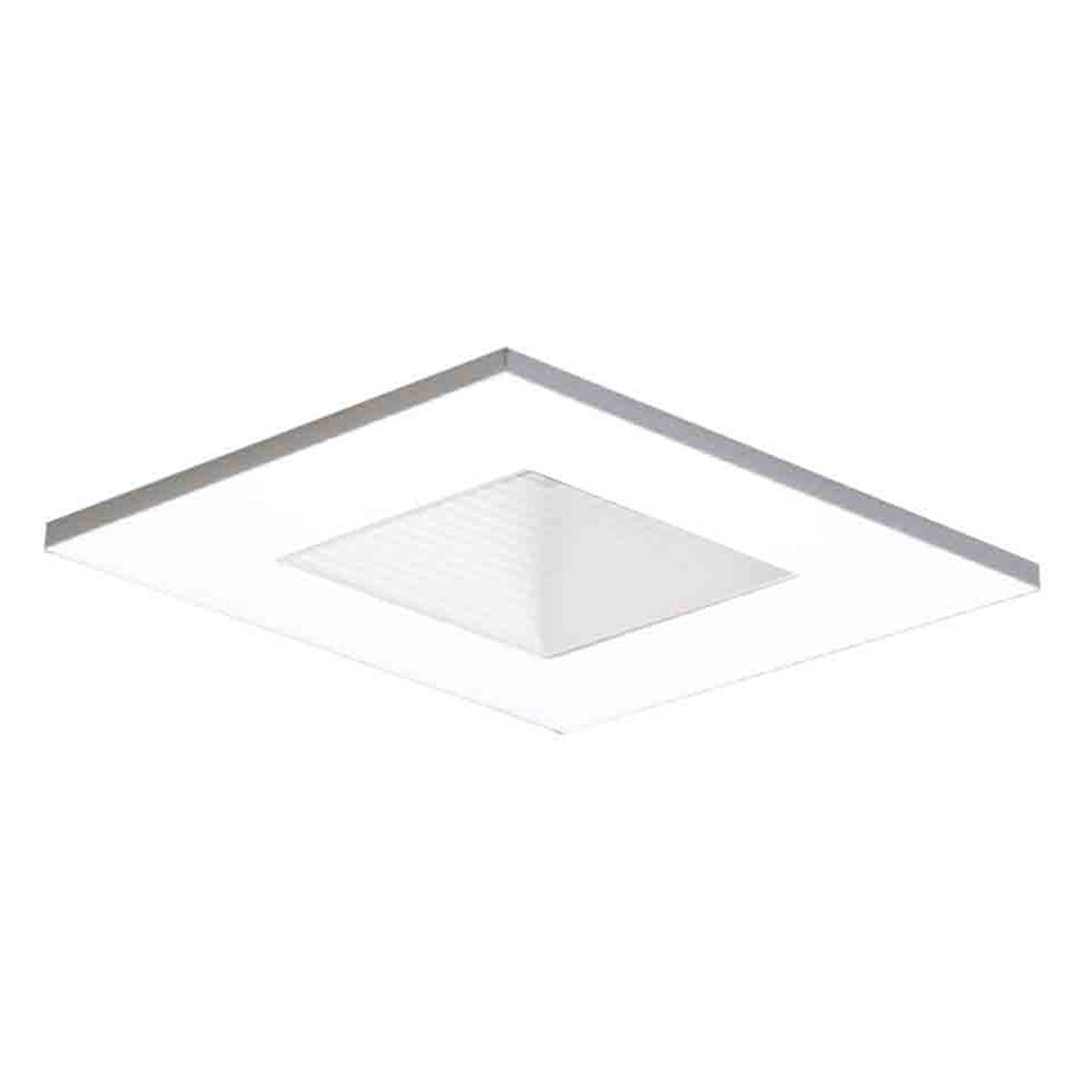 amazoncom halo recessed whwb inch degree trim  - amazoncom halo recessed whwb inch degree trim adjustable squarewith baffle white home improvement