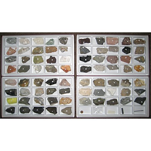 (Scott Resources Earth Science Rock and Mineral Collection Teacher Edition, Set of 75)