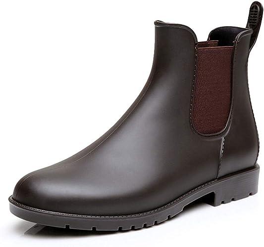 Pluie Femme Bottes Bottines Wellington Boots Caoutchouc UzMVpS