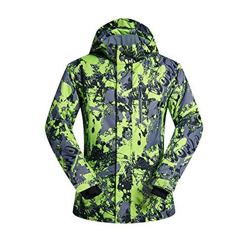 Chaqueta de esquí Impermeable para Hombre Tops Abrigo de Escalada para Exteriores Prendas de Abrigo: Amazon.es: Ropa y accesorios