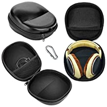 Sixsop Headphone Travel Carrying Case For SONY SONY MDR-V6 MDR-7506 MDR-XB920 MDR-900 MDR-V700 MDR7509HD MDR-7510 MDR-ZX100 ZX300 ZX310 XB200 XB700 XB500 V900 V900HD NWZ-wh303 NWZ-wh505 Headphones