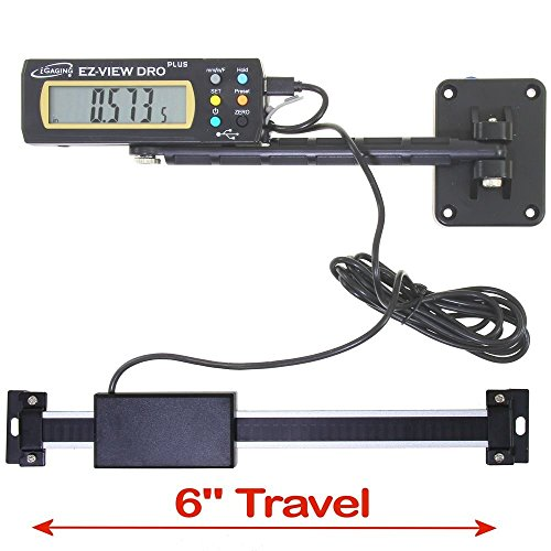- iGaging 35-706-P+ Digital Readout DRO Travel XL LCD Display EZ-View Plus, 6