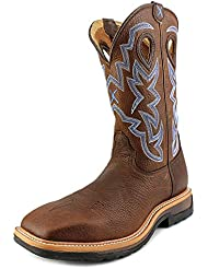 Twisted X Mens Lite Weight Work Boot Square Toe - Mlcw003