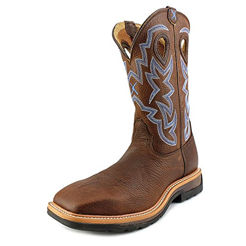 Mlcw003 Brown Lite Weight X Men's Toe Square Boot Work Twisted AqzwnR86R