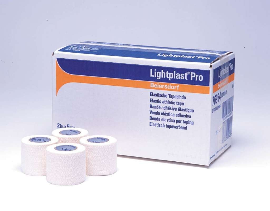 76952 Lightplast Pro Tape 1''X5YD 48 Roll Per Case Part No. 76952 by- Beiersdorf/Jobst Inc.