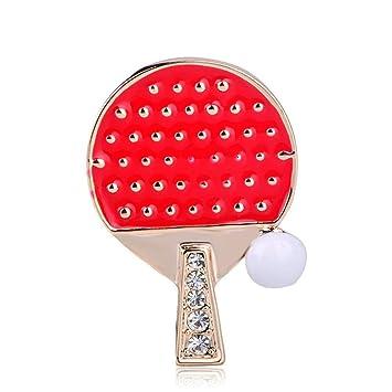 WANGLYDJ Broche Raqueta De Tenis De Mesa Pelota De Tenis De ...