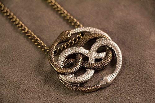 Auryn Necklace Pendant Gold & Silver(Inspired by The Neverending Story)