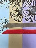 Tree Free Gift Wrap-Glitter Daisy