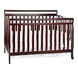 Dream On Me Liberty 5-in-1 Convertible Crib, Cherry