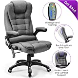 Massage Office Chair Kealive 400lbs Thick High Back Reclining Office...