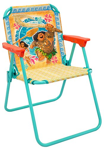 Moana Patio Chair for Kids, Portable Folding Lawn Chair