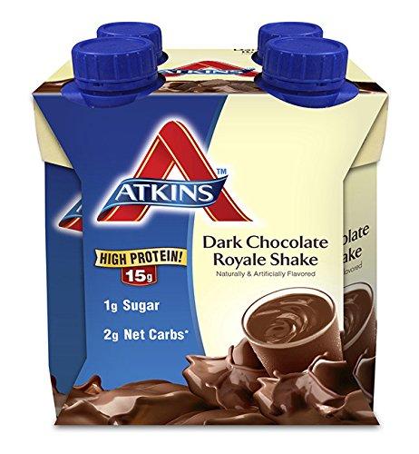 ATKINS Dark Chocolate Royale Shake 4/11 fl oz (325 ml) Li...