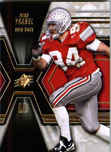 2014 Upper Deck SPX Football Card # 24 Mike Vrabel - Ohio State Buckeyes
