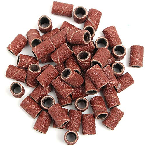 150pcs 80/120/180 Grit Sanding Bands Aabrasive Tool by Anddoa (Image #2)