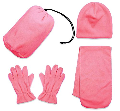 Simplicity Unisex Adult Winter Wholesale Ski Beanie Scarf Gloves Set, - Wholesale Ski