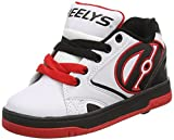 Heelys Propel 2.0 Sneaker (Little Kid/Big Kid), White/Black/Red, 13 M US Little Kid
