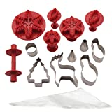 Cake Boss Decorating Tools Winter and Holiday Cake Kit thumbnail