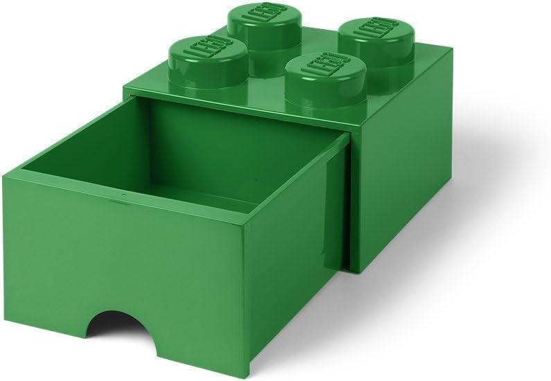 Room Copenhagen-Lego Ladrillo 4 pomos, 1 cajón, Caja de almacenaje apilable, 4,7 l 40051734: Amazon.es: Juguetes y juegos