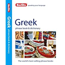 Berlitz Greek Phrase Book and Dictionary