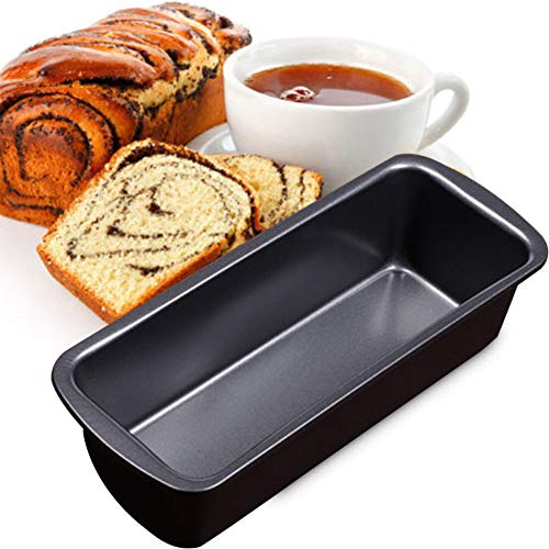 Black Carbon Steel Bread Tin Tools Oven Perfect Tray Baking Gadgets Non Stick Loaf Pan
