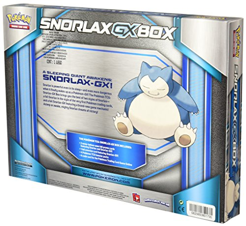 TCG: Snorlax GX Box Card Game