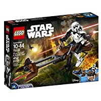 Deals on LEGO Construction Star Wars Scout Trooper and Speeder Bike 75532