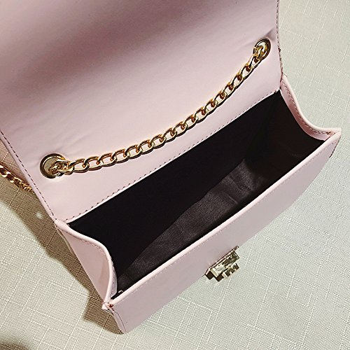 Shoulder Bag, Luxury Pearl Bags Women Crossbody Bags Girls Messenger Bags Small Handbags Phone Coin Bags (Pink) by Euone_Bag (Image #5)