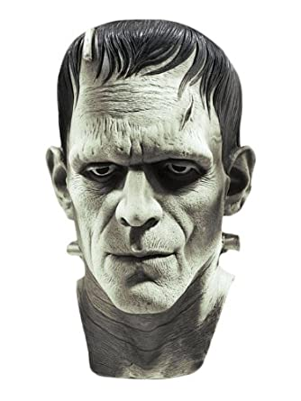 Vintage Men's Costumes – 1920s, 1930s, 1940s, 1950s, 1960s Universal Studios Silver Screen Edition Frankenstein Mask $44.43 AT vintagedancer.com