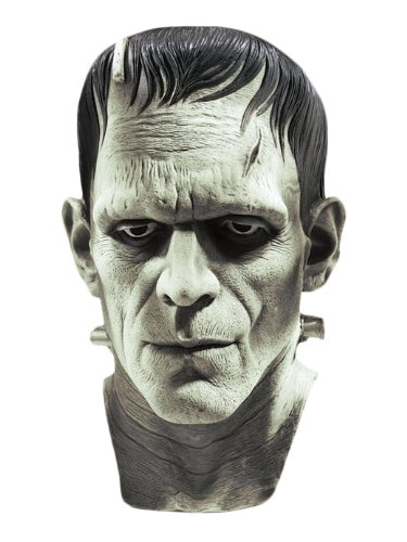 Frankenstein Costumes (Universal Studios Silver Screen Edition Frankenstein Mask, Multi Color, One)