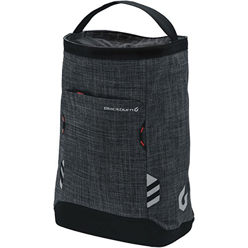 Blackburn Central Shoppers Pannier Charcoal, One Size (Shopper Pannier)