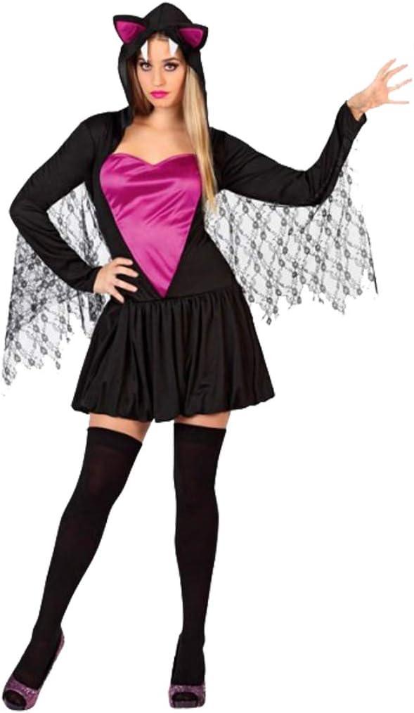Cisne 2013, S.L. Disfraz para Halloween de Mujer Murcielago Negro ...