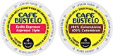 Cheap Cafe Bustelo – Espresso & 100% Colombian K-cup Combo Pack for Keurig 2.0 – 48 Count/24 Per Box