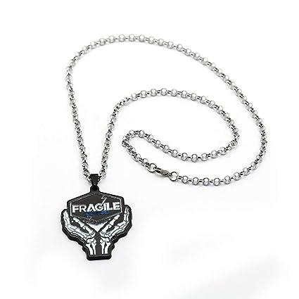 Amazon.com: Algol - Game Death Stranding Necklace Black ...