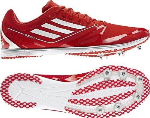 Adidas Adizero scorrono lungo percorsi cadenza 2 punte (36, rosso)