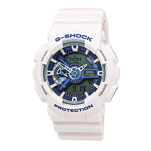 G-Shock GA-110WB - White and Blue Series Watches - White/Blue / One Size