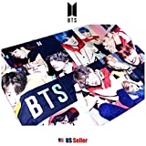 K-Pop Boy Band BTS Bangtan Boys Micro Polar Fleece Wall Deco Towel Blanket (Type B)