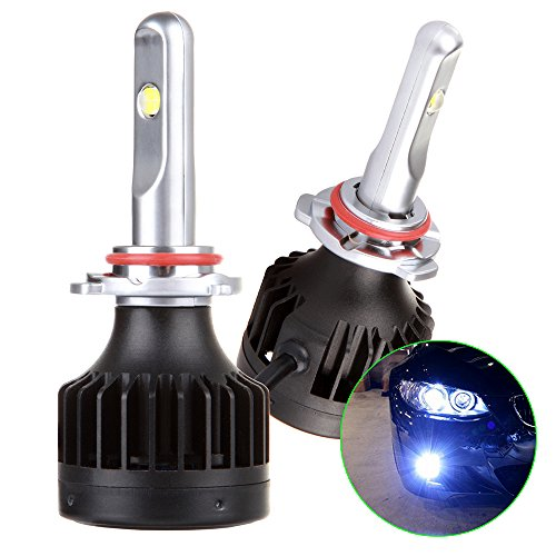 R30 Reflector Set - SCITOO 9005/HB3 Upgrade Headlight Bulb Conversion Kit,9005/HB3 Headlight Bulbs 65W 8000LM 7000K,White LED Driver Dual Beam Headlight Bulbs(Include 2 Bulbs)