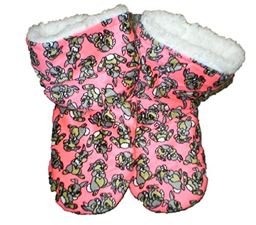 Fuzzy Socks Booties Babba Printed Bootie Thumper Disney Slipper 4qSwSZE