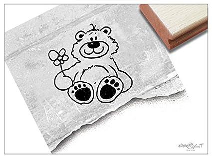 Sello - K 30 - kinderstempel Diseño oso Tine - Sellos de erstempel ...