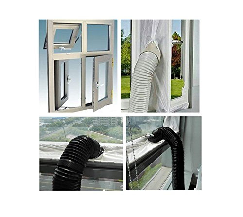 w Door Seal - Soft Cloth Sealing Baffle for Mobile Air-Conditioning Units Mobile Air Conditioning ()