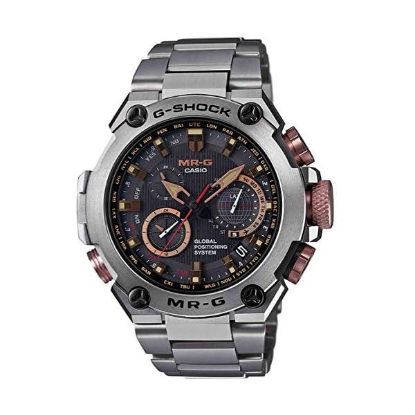 51 7o5VjrkL. SS600  - Casio G-Shock MR-G GPS Atomic Solar Hybrid MRG-G1000 MRGG1000DC-1A