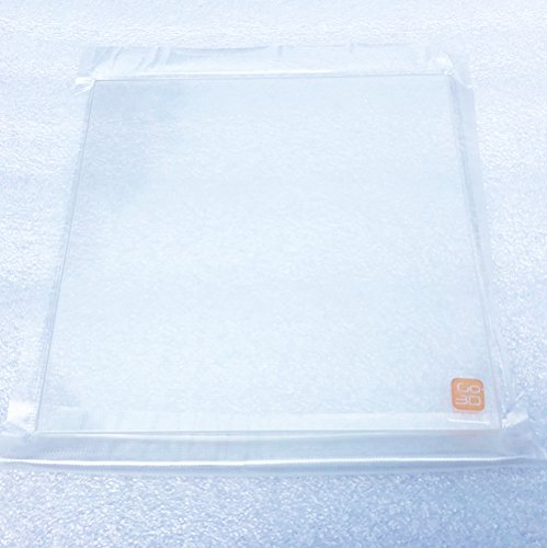 Amazon.com: 220 x 220 mm. vidrio de borosilicato placa cama ...