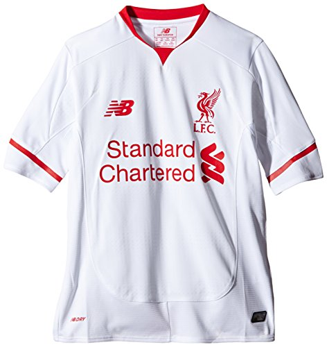 10 Liverpool Away Jersey - New Balance Liverpool Youth Away Jersey [White] (M)