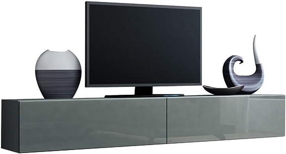 Domadeco 180 TV media stands/tv stand furniture/TV media stands Color Grey Grey